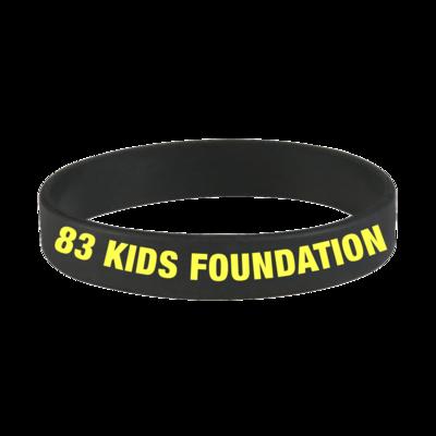 83 KIDS FOUNDATION BAND - BLACK & YELLOW