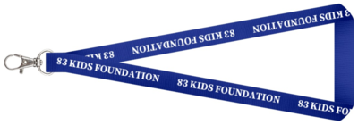 83 Kids Foundation Lanyards