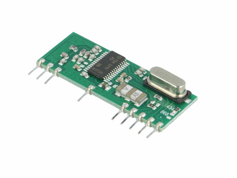 433.92MHz AM Superhet Receiver (RCASK2-434-RS)