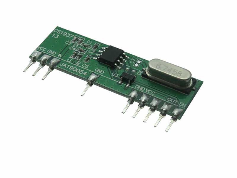 Low Cost Receiver Module 433.92MHz (RCRX1-434-CT) coated version