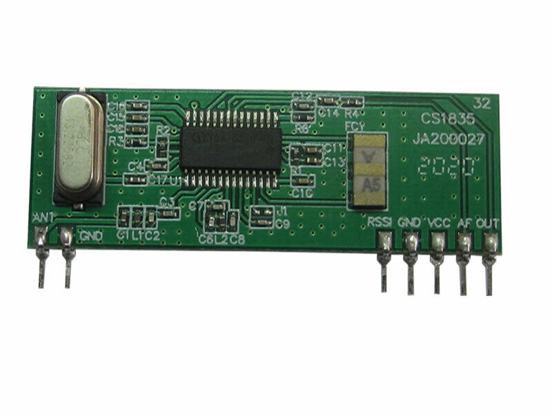 433.92MHz FSK Receiver 9.6kbit/s   (RC-RFSK3-434-96)