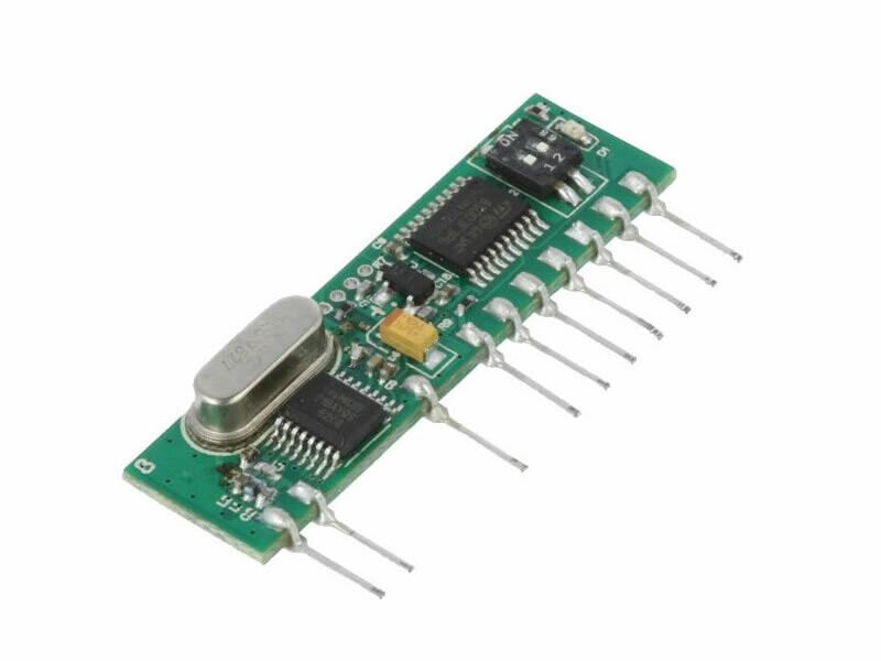 433.92 Receiver Module with on-board decoding (RC-RHCS-4CH)