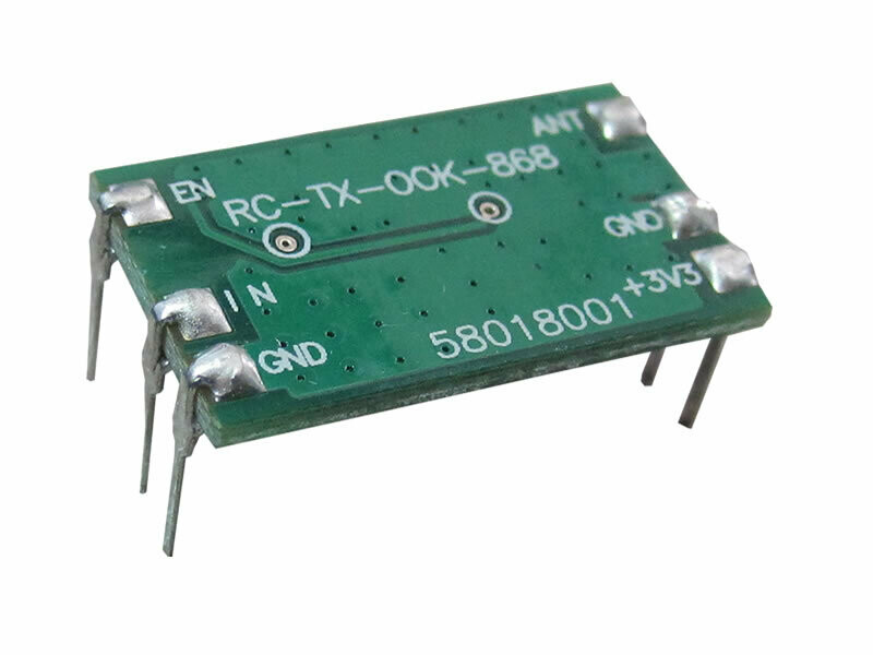 868.30MHz ASK Transmitter Module (RC-TASK2-868)