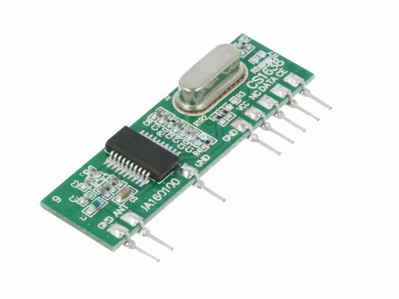 433.92Mz Receiver Module (RCRX5-434)