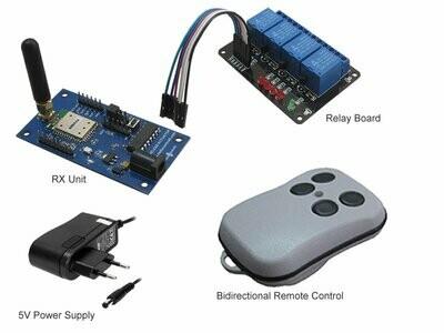 868MHz Bidirectional Remote Control (Essential Kit )