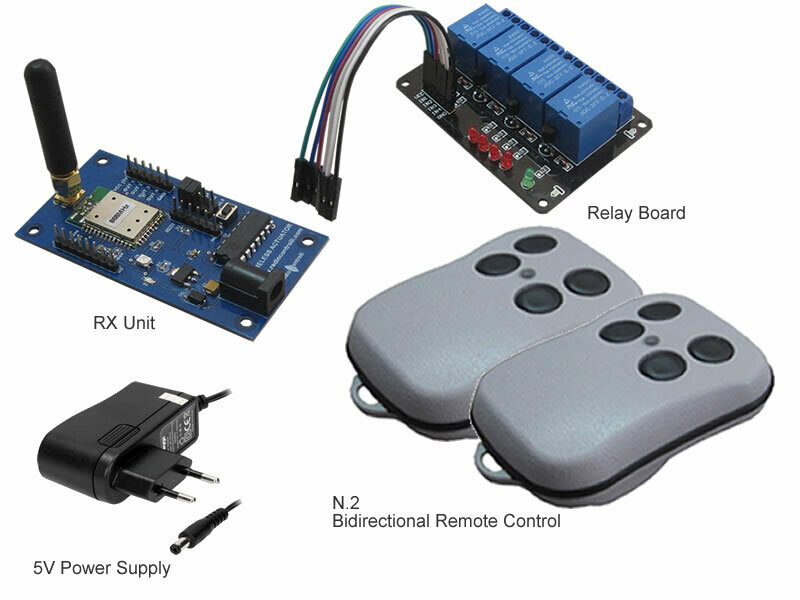 868MHz Bidirectional Remote Control (Evaluation Kit )