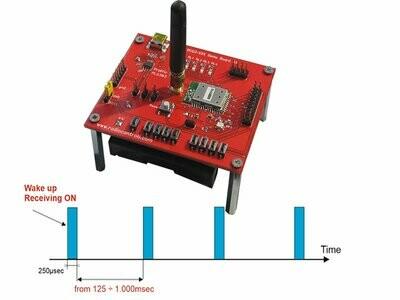 WakeUp Receiver Module 433MHz (Evaluation Kit RC-WuTRx-434)