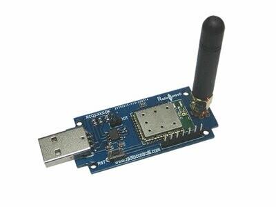 868MHz Radio Modem Evaluation Kit (RCQ3-868-DK)