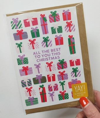 All the best to you this Christmas card