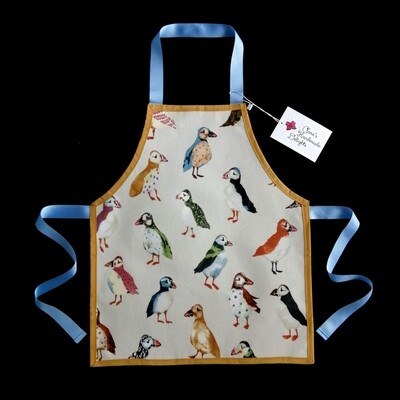 Child's wipe-clean PVC apron (age 3-7 years) - various designs available