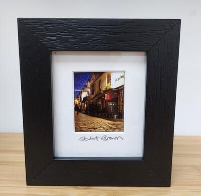 Framed Mini Picture - Ashton Lane