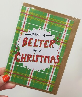 Have a belter of a Christmas card