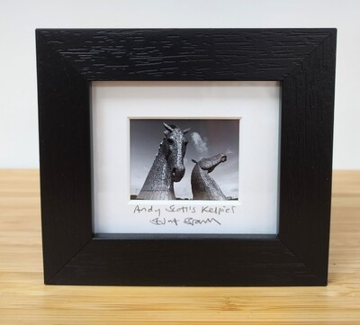 Framed Mini Picture - The Kelpies