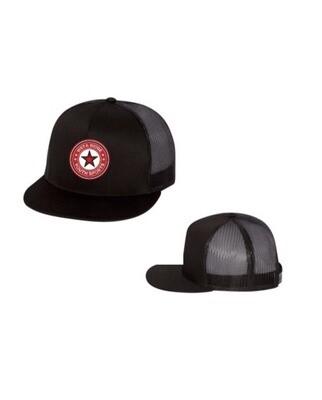 Flat Bill Trucker Hat  *More Colors*