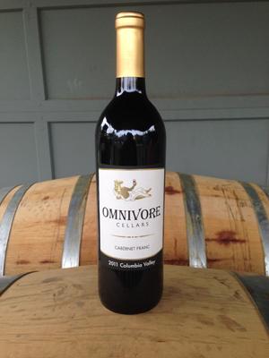 2011 Omnivore Cellars Cabernet Franc