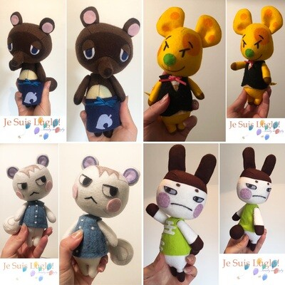 Band A Felt Wobble Doll Commission