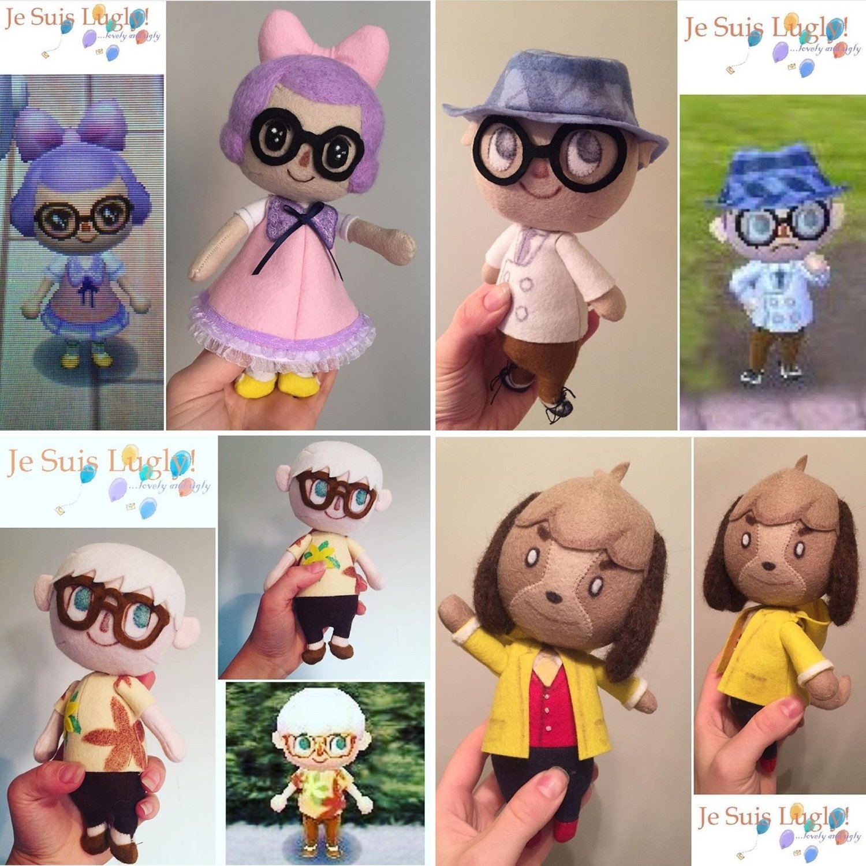 Band D Felt Wobble Doll Commission