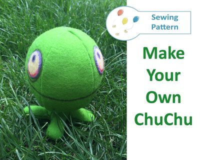ChuChu from Zelda Felt Sewing Pattern