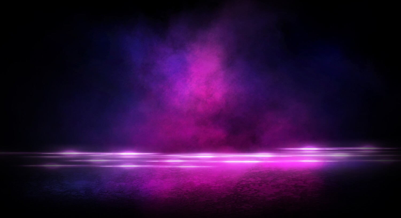 Pink Neon Asphalt Smoke