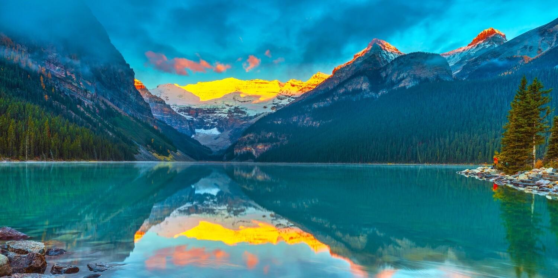 Victoria Glacier Canada