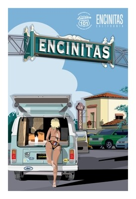 VW Girl Encinitas