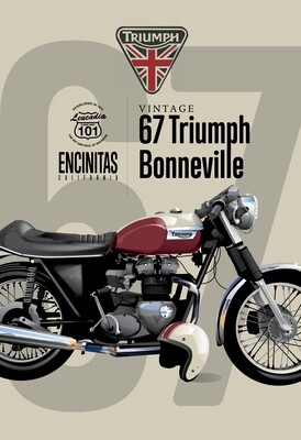 67 Triumph Bonneville