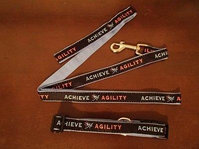 Achieve Agility Collar & Leash Combo
