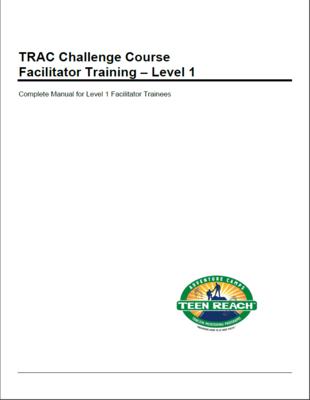 Level 1 Challenge Course - Training Manual PDF version