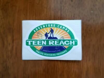 Teen Reach Vinyl Stickers