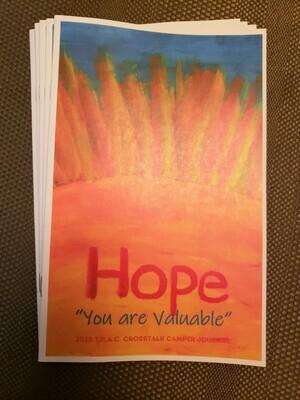 2020 T.R.A.C. Camper's Journal - Hope