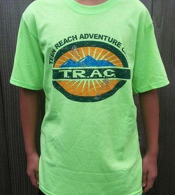 Neon Green Camper T-Shirts