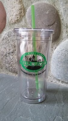 Water Cup W/Straw