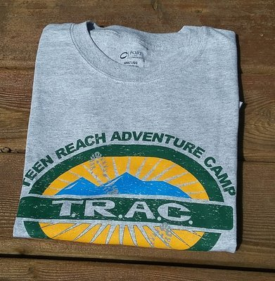 Heather Gray Camper T-Shirts