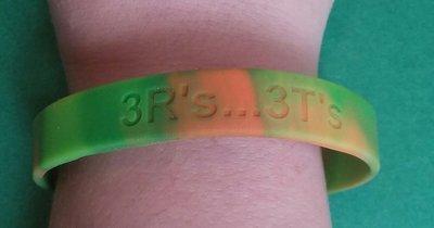 Teen Protection Plan- Camper multi-colored bracelet