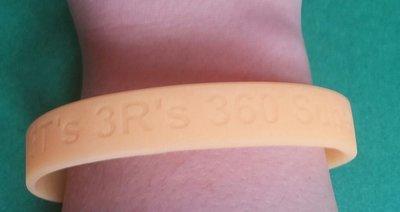Teen Protection Plan- Volunteer glow in the dark bracelet