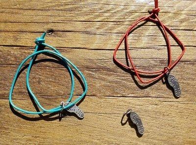 Boot Print Charm jewelry