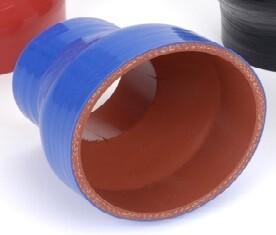 Blue Silicone Hose Reducers 150 Deg C