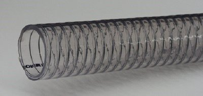 Clear Wire Helix Food Suction Hose