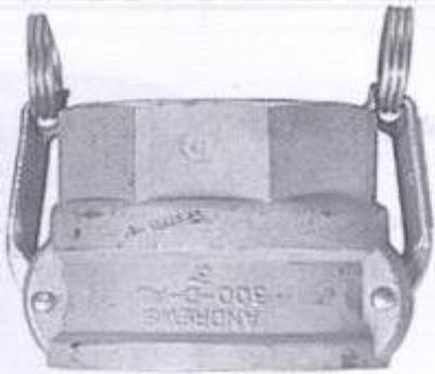 FBSP x Female Aluminium Camlock TYPE D