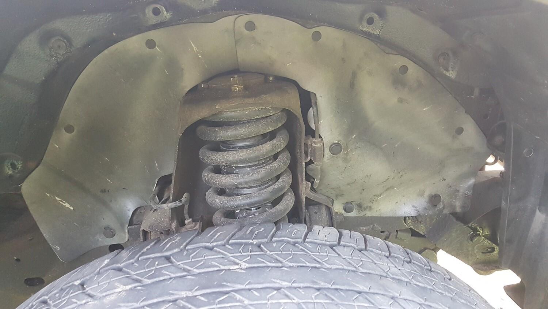 Боковые пыльники двигателя Pajero Sport 2 поколения KH0# (2008-2014)