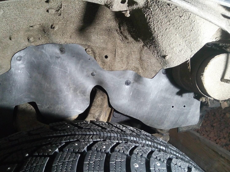 Боковые пыльники двигателя Toyota Hilux Surf 130