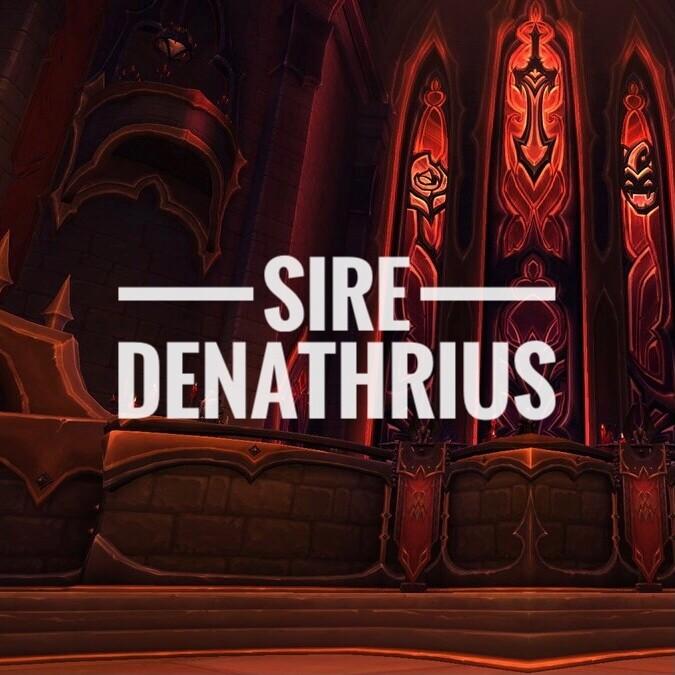 Sire Denathrius Kill (Last Boss)