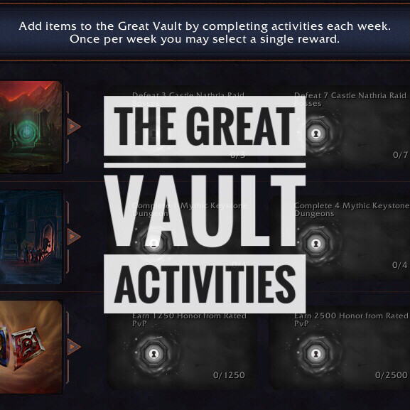 The Great Vault Carry