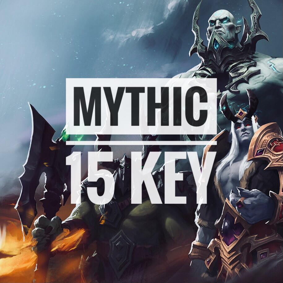 Mythic +15 (the best choice)