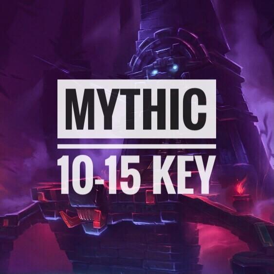 Custom Keys: 10-15 Level
