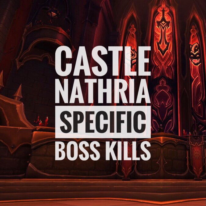 Nathria Specific Boss