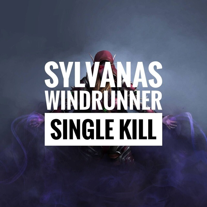SYLVANAS WINDRUNNER (LAST BOSS) BOOST NORMAL/HEROIC