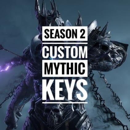 MYTHIC+ KEYS BOOST 10-21