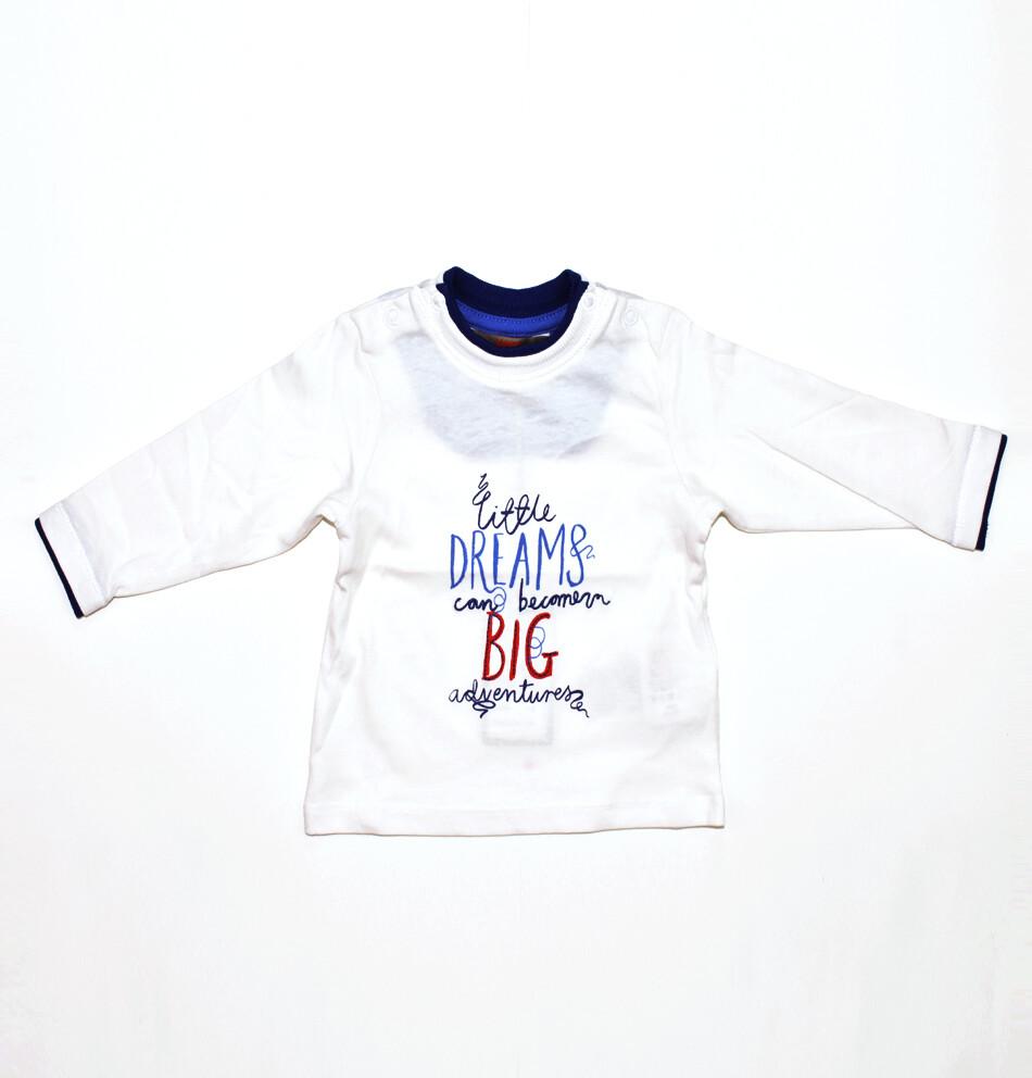 T-SHIRT KANZ - ml blanca estampada - Niño