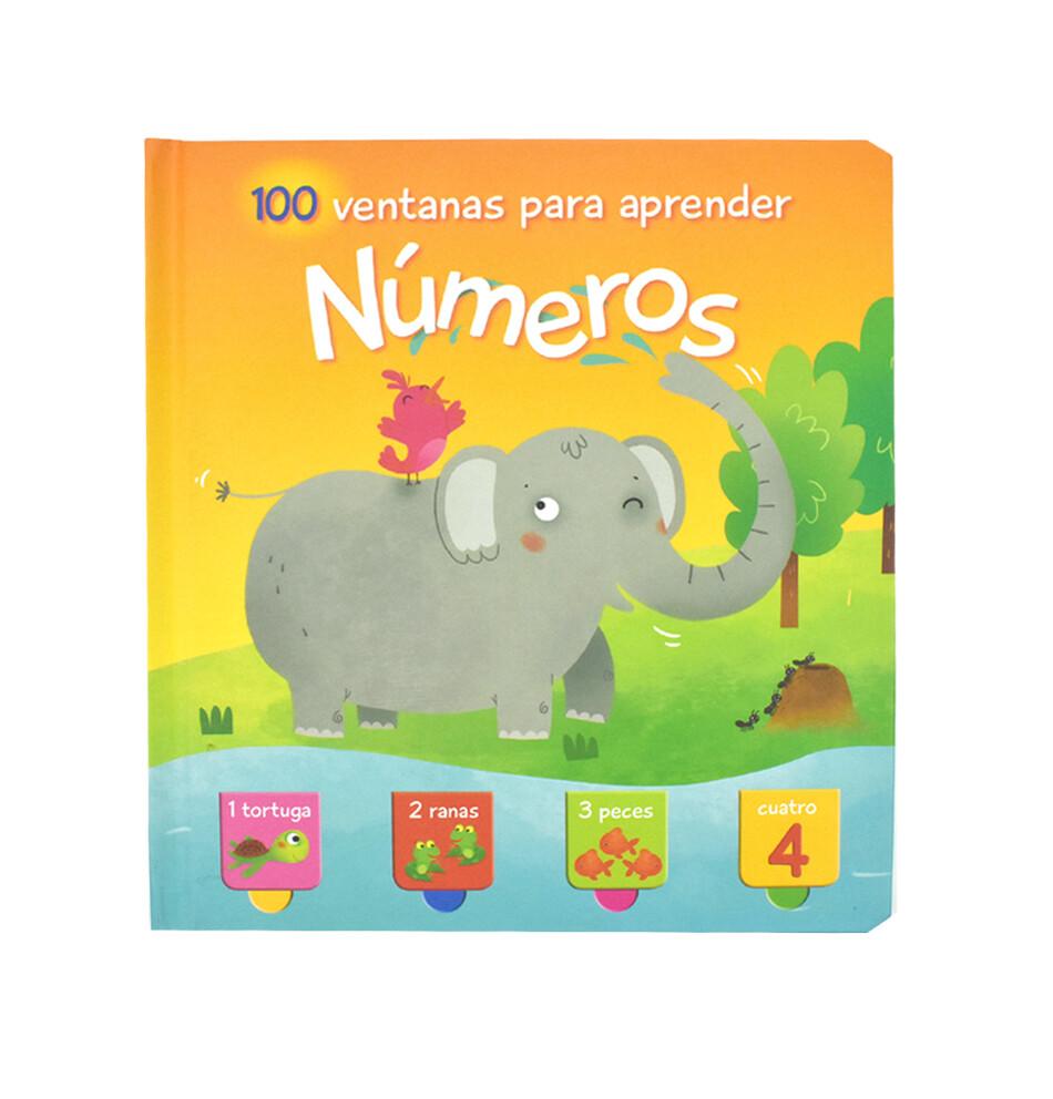 Libro 100 ventanas para aprender Números